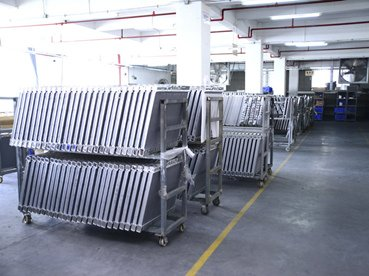 car radiator factory