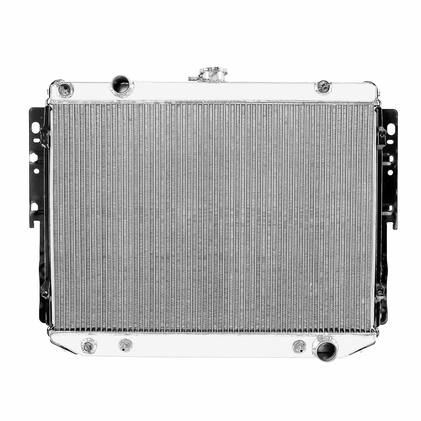 NEW Full Aluminum New Radiator For 1974 - 1980 Dodge Ramcharger B Series VAN AT