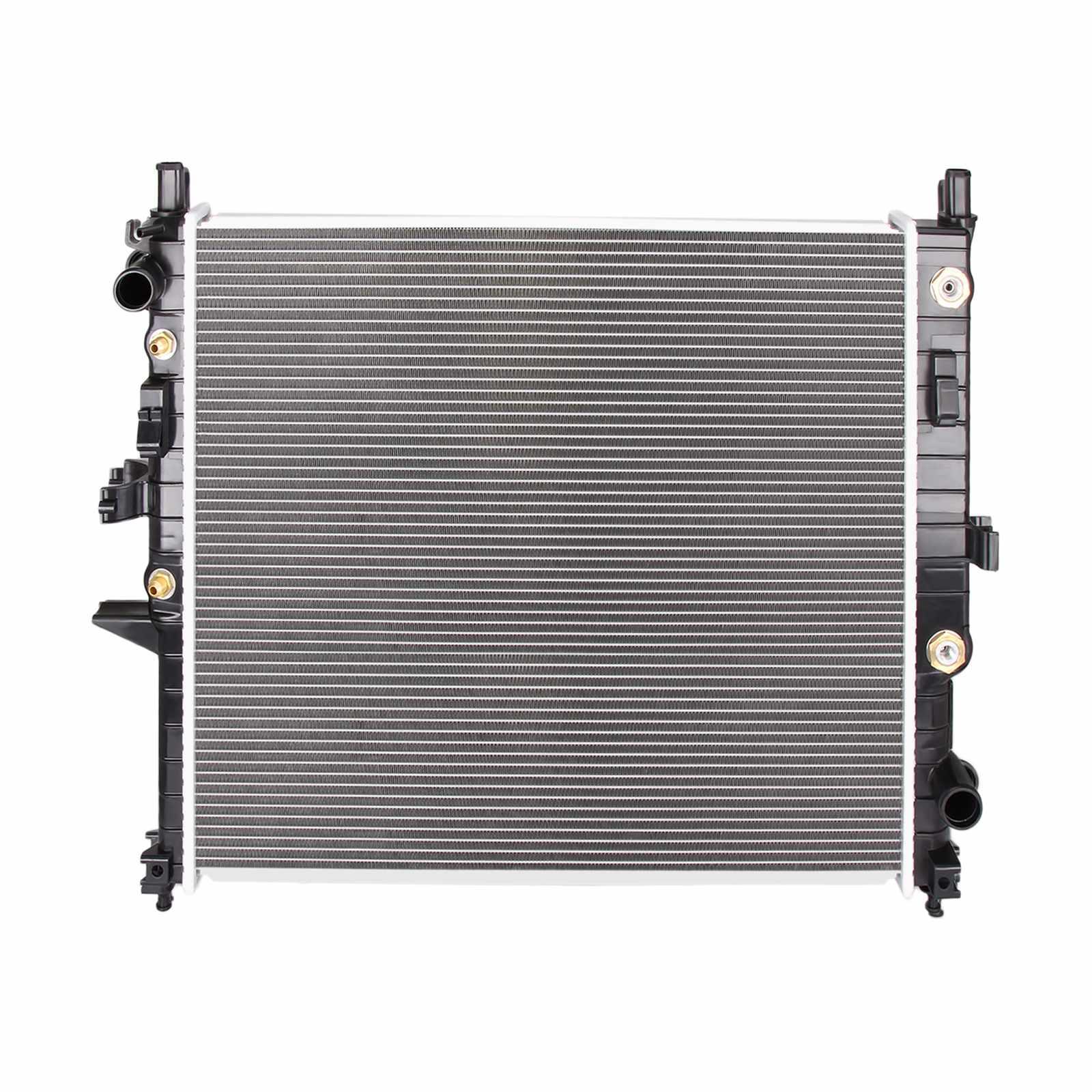 Dromedary New Radiator for Mercedes-Benz ML350 ML55 AMG V6 3.7 V8 5.5 2000-2005 AT MT 2345 MERCEDES BENZ RADIATOR image5