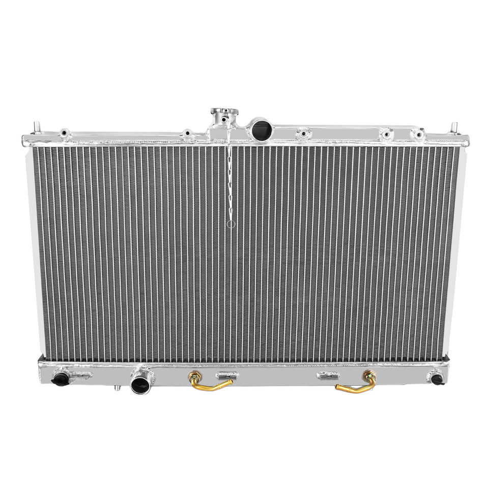New 2448 Full Aluminum Radiator For Mitsubishi Lancer 2002-2007 AT 1 Row